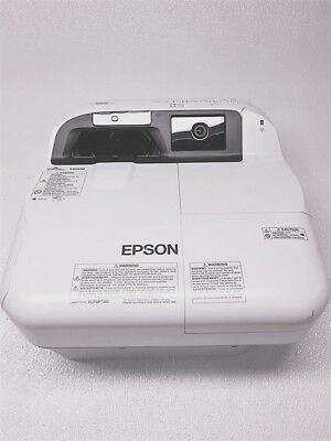 Epson Brightlink 595Wi Interactive 3LCD Projector NO MOUNT *Tested and Working*