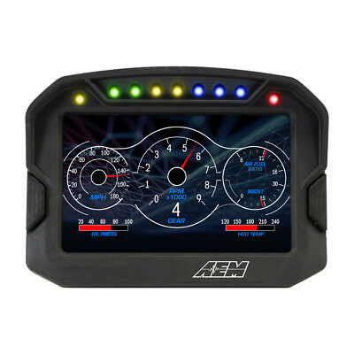 30-5700 Aem Cd-7 Carbon Digital Racing Dash Display Kit