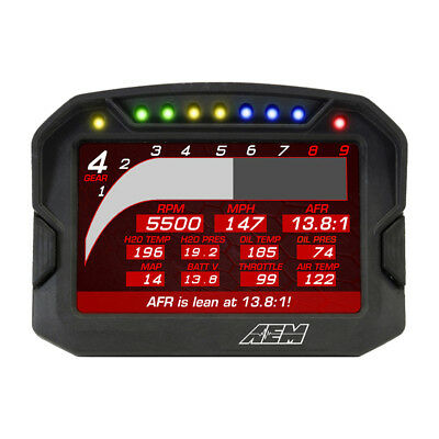 30-5701 Aem Cd-7L Carbon Digital Racing Dash Display/logger Kit