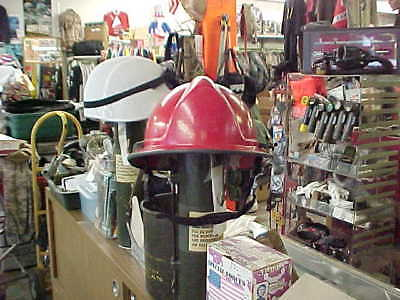 Morning Pride  Series Fire Helmet MILITARY FIRE FIGHTER FIRST RESPONDER RED