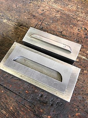 Fly Press Louvre Tool  75mm x 15mm x 10mm Metal cutting for Classic Car Engineer