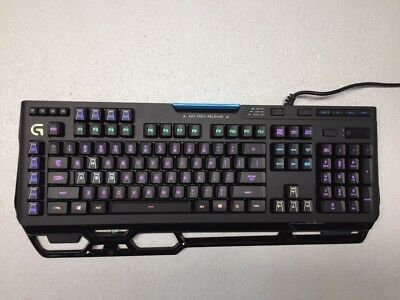 Logitech G910 Spark Mech. Gaming Keyboard w/o Palm Rest *Tested & Working*