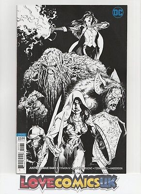 Justice League Dark #1 1 For 50 Inks Variant Dc Comics