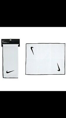 Authentic NIKE Towel - Golf &/or Gym - White MicroFibre - Large - RRP £20