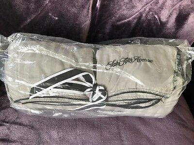 United Polaris Business Class First Saks Fifth Avenue Duvet Blanket Gray Sealed