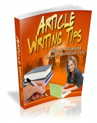 Article Writing Tips PDF eBook + Master Resell Rights + 5 FREE eBooks