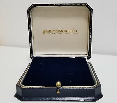 Vintage Bailey Banks & Biddle Necklace Jewelry Box - Excellent, EMPTY BOX ONLY