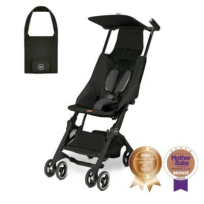 Goodbaby Pockit Lightweight Travel Stroller W Carry Bag