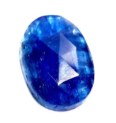 4.50 Cts 100% 1Pes BEAUTIFUL EARTH MINED  BLUE TANZANITE CUT SLICES GEMSTONE>T21