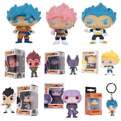 Funko Pop:Dragonball Z -Beerus,Goku,Vegeta, HIT,Gotenks Dragon Ball Vinyl Figure