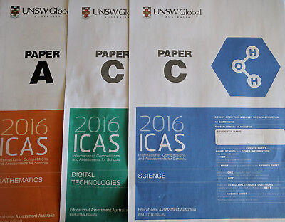 ICAS Past Papers Grade 2 to 9