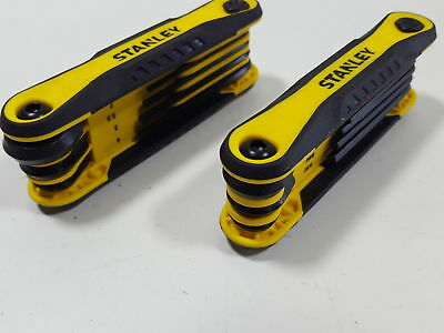 Stanley STHT71839 Folding Metric and Sae Hex Keys, 2-Pack (H184838)