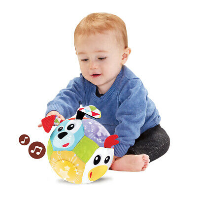 Yookidoo Lights 'N' Music Friends Ball Baby Soft Musical Toy 0-12 months