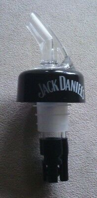 2 Jack Daniels Alcohol Nip Pourer Dispenser High Quality With Ball Bearing Rare