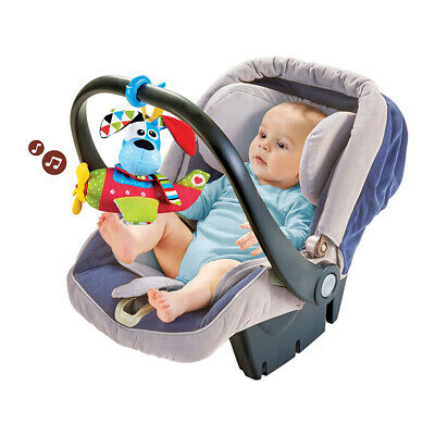 Yookidoo Tap 'N' Play Musical Plane Stroller Car Seat Baby Toy – Dog