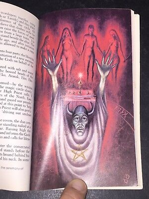 1973 Witchcraft And Black Magic Book Occult Crowley Magick Black Mass Rare
