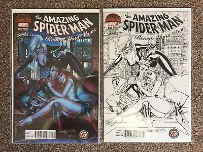 Amazing spider-man Renew Your Vows #2 - J Scott Campbell Variant Covers