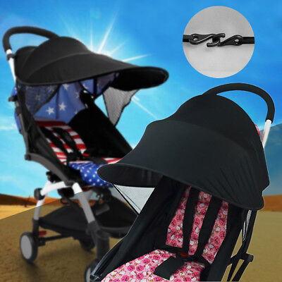 1X Universal Stroller Pram Sun Shade Baby Infant UV Protection Rays Cover Awning