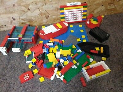Job Lot of 920g Old Lego - Various Pieces - Vintage