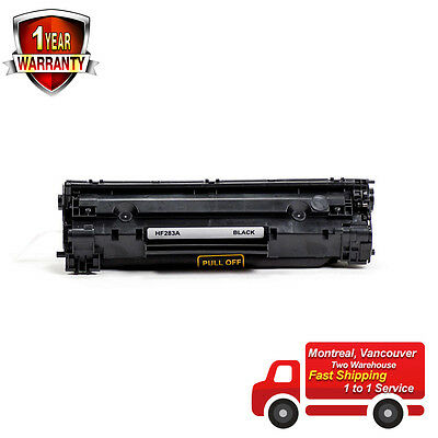 1PK CF283A 83A Black Toner Cartridge For HP LaserJet Pro MFP M127fn M125 M127fw