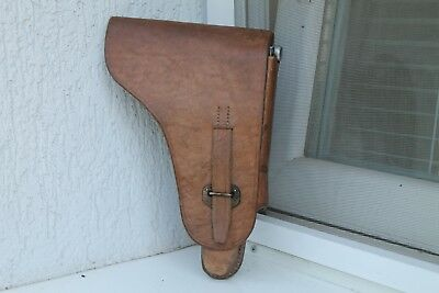 Rare Original WW2 WWII German Luger P08/Walther P38 For Bulgarian Army  Holster