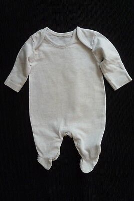 Baby clothes UNISEX BOY GIRL premature/tiny<6lbs/2.7kg grey babygrow SEE SHOP!