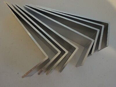 """2"""" X 6"""" Aluminum Angle 1/8"""" Thick 1 1/2"""" In Length (8 Pieces)"""