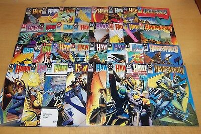 Dc Comics Hawkworld 1-32 Full Set Ostrander 1990-1993