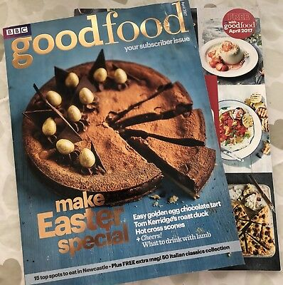 Bbc good food magazine 220 picclick uk bbc good food magazine apr 2017 easter special with 50 italian recipes free forumfinder Choice Image