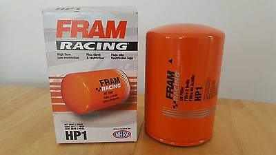 "Fram HP1 Performance Oil Filter - spin on filter with a 3/4""-16 thread"