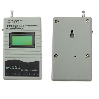 Frequency Counter Tester Measurement For Two Way Radio Transceiver 50MHz-2.4GHz