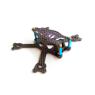 95mm Micro FPV Racing Frame Carbon Fiber 14g Supports 2 Inch Propeller For RC Dr