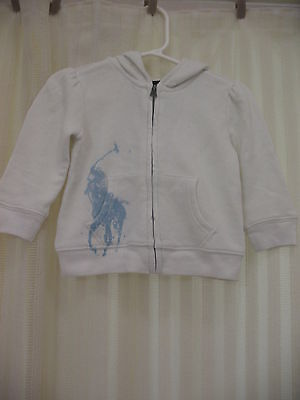 Polo Ralph Lauren hoodie jacket sweater size 9M 12M 18M NWT