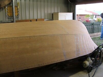 Wooden Boat Project