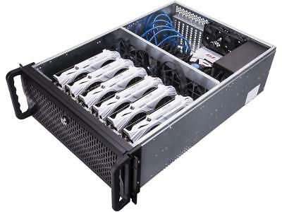 Rosewill Server Chassis, Rackmount Case for Bitcoin Mining 6 GPU CASE