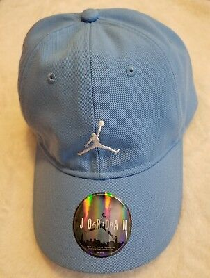 5b8bc407bd3218 Nike Air Jordan Jumpman Heritage 86 Adjustable Hat Carolina Blue 847143-412