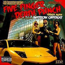 Five Finger Death Punch - American Capitalist (Deluxe) (Cd)