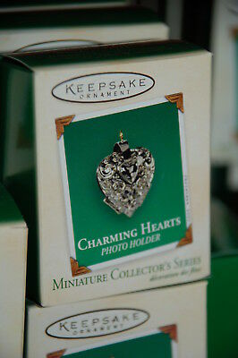 Hallmark 2003 Charming Hearts series 1st Miniature MINI Ornament