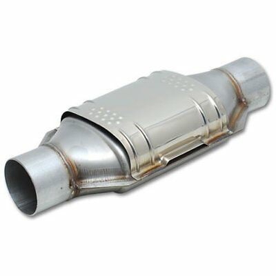 Vibrant 7230 GESI OBD2 Ceramic Core Catalytic Converter 3 Inlet/Outlet 7.25x3.75