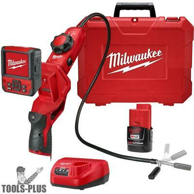 Milwaukee 2317-21 M12 M-SPECTOR FLEX 3' Inspection Camera Kit w/ PIVOTVIEW New