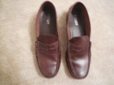 7d7e9b4d2b6 Florsheim Imperial Mens Size 12 M Leather Penny Loafer Slip On Shoes Brown