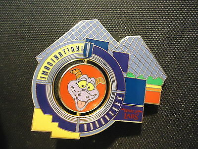 Disney Wdw Journey Into Imagination Pavilion Reveal Conceal Figment Spinner Pin