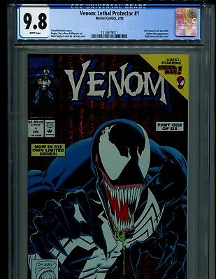 5 Professional Comic Pressings For $40! No Venom Lethal Protector 1 Cgc 10.0 9.8
