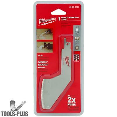 Milwaukee 49-00-5450 Grout Removal Tool New