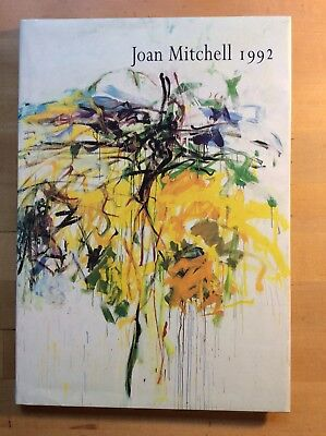 JOAN MITCHELL 1992 Paintings Exhibition Catalogue Robert Miller Gallery, NYC