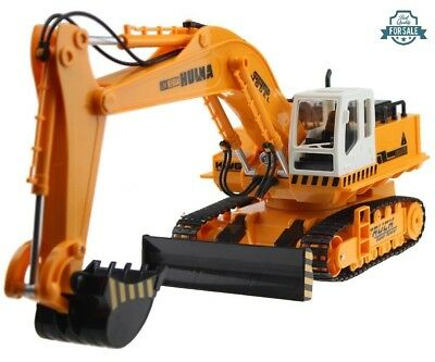 Radio Remote Control 11CH Huge Excavator Construction Tractor With Lights RC RTR