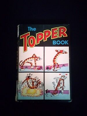 The Topper Annual 1966 Vintage U.K Comic Hardback