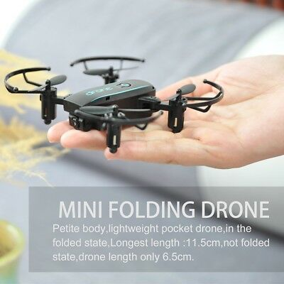 Linxtech IN1601 2.4G 720P Mini RC Drone with Camera Wifi FPV Foldable Altitude H
