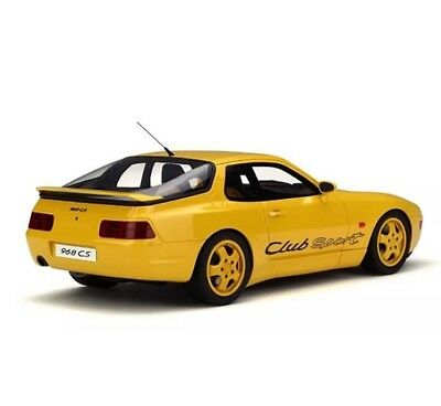 New 1/18 GT Spirit Porsche 968 Club Sport Yellow 1250pcs 911