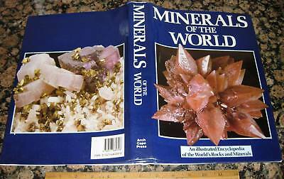 MINERALS OF THE WORLD - ILLUSTRATED ENCYCLOPEDIA  by Duda 1989 Crystallography